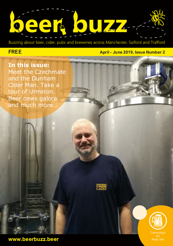 Beer Buzz Issue 2 Cover