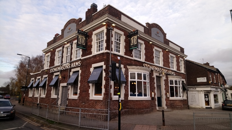 Stonemasons Arms Timperley Re-Opened