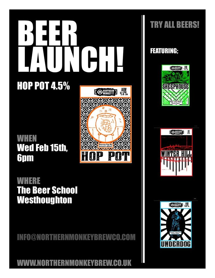 Northern Monkey – New Beer Launch